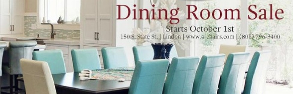 Dining sale going on now!